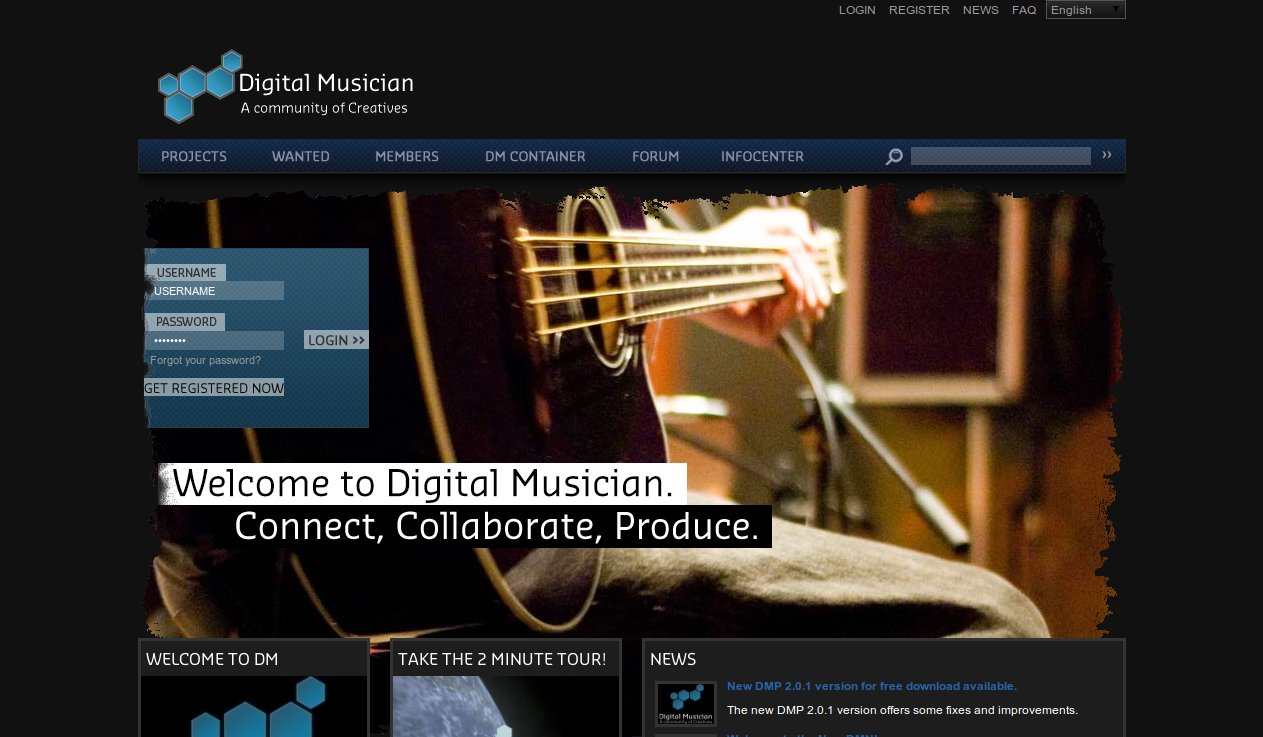 Digital Musician Screenshot