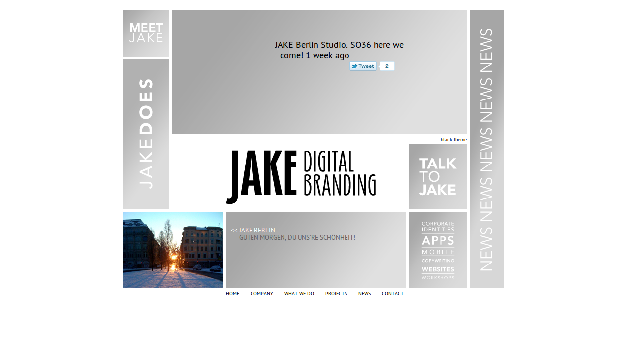 JAKE Digital Branding Screenshot